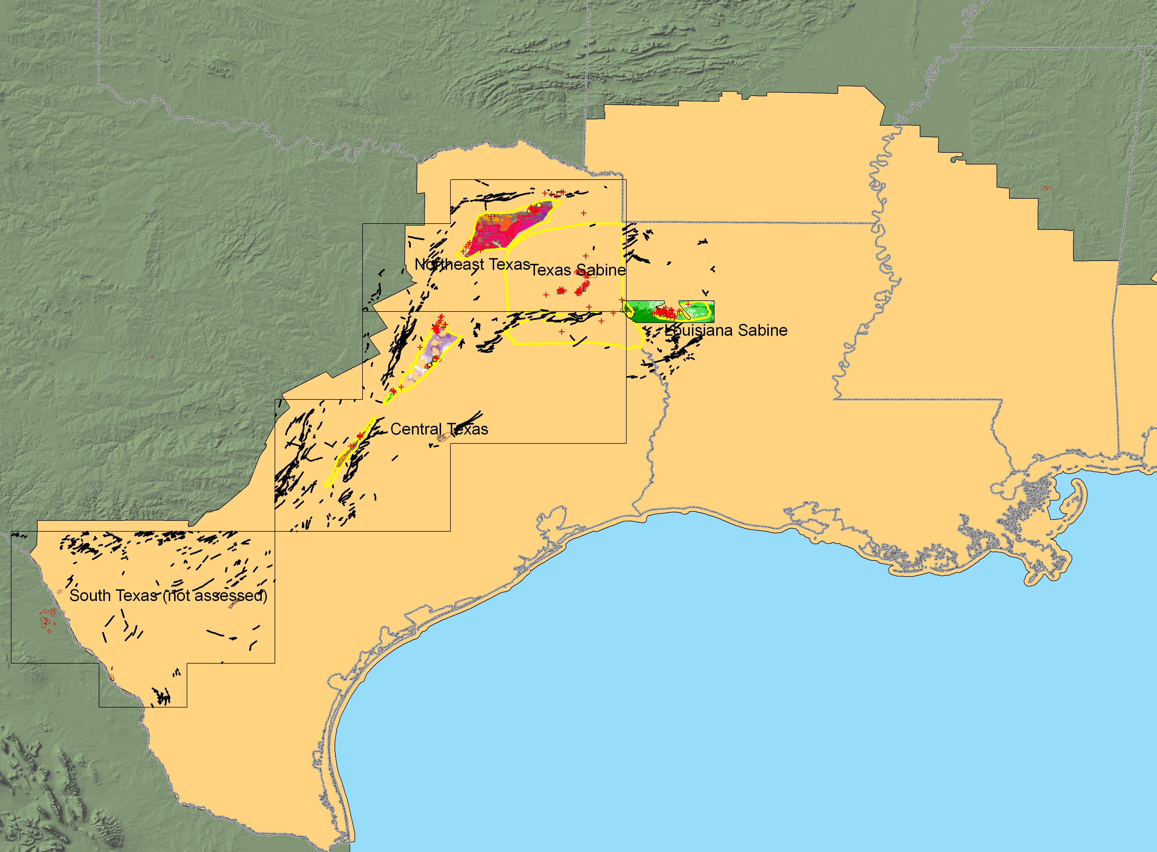 Geologic Assessment of Coal in the Gulf of Mexico Coastal ...